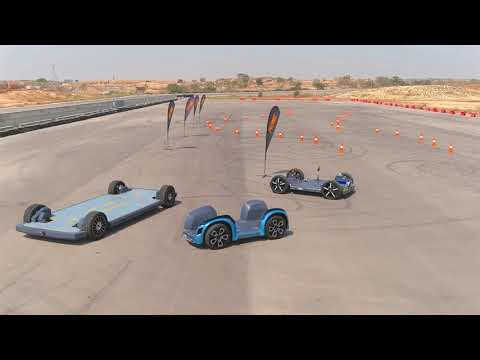 REE Automotive hits the track with three fully modular, next-generation EV platforms