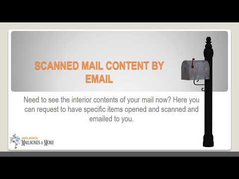 Santa Monica Mailboxes | Mailbox Rental Santa Monica