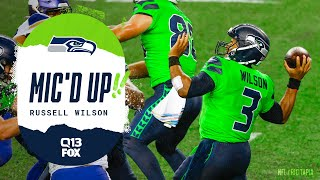 Russell Wilson Mic'd Up vs Vikings | Seahawks Saturday Night