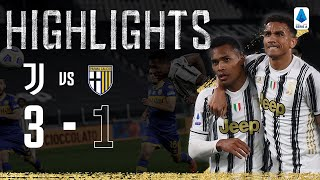 Juventus 3-1 Parma | Alex Sandro & De Ligt Secure Comeback Win! | Serie A Highlights