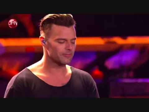 A medio vivir - Tal vez, Ricky Martin en Viña 2014
