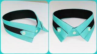 How to make stylish shirt collar