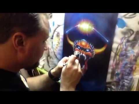 STENCIL MASTERY CLASS. Airbrush Getaway Workshops