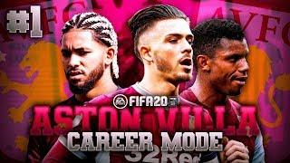 THE JOURNEY BEGINS!   FIFA 20 Aston Villa Career Mode EP1
