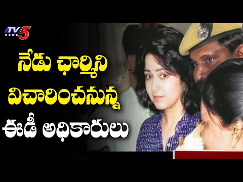 Tollywood drugs case: ED to grill actress Charmme today