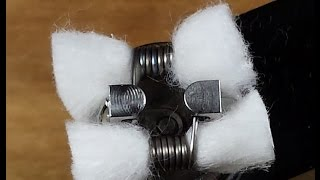 Wicking Coils 101 Easy Tutorial for Beginners The Bow and Scottish Roll
