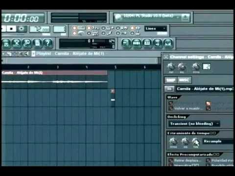 Todo Bien Producciones - Tutorial Samplear en Fl Studio 10 Español