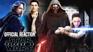 Star Wars Episode 9 Official Reaction Revealed! & More (Star Wars News)