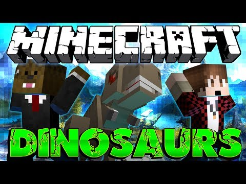 BATTLE TOWER RACE! Minecraft Dinosaurs Modded Adventure W/ Mitch #12 - Smashpipe Games