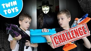 Nerf War : Game Master Got Into Our YouTube Channel (FUNNY VIDEOS)