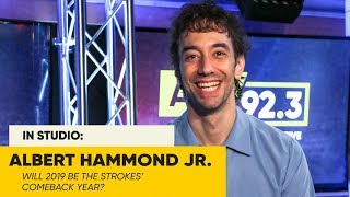 Albert Hammond Jr. Discusses Present Situation With The Strokes