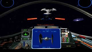 X-wing vs. TIE Fighter - 240fps test