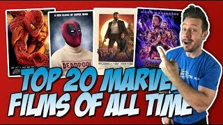 All 58 Marvel Movies Ranked Part 3 (Top 20 Marvel Movies)