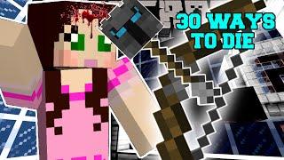 Minecraft: I SHOT MYSELF IN THE FACE! - 30 WAYS TO DIE - Custom Map [1]