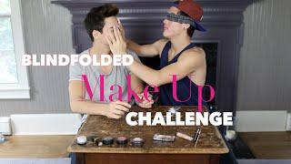 Blindfolded Make Up Challenge