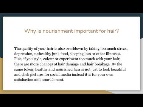 Secret To Healthier, Nourished & Shinier Hair by SpringAlways.co