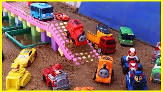 kids video | dump truck for children | thomas and friends | paw patrol |  car toy |disney pixar cars