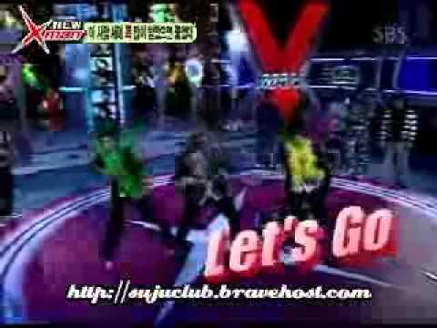Super Junior_슈퍼주니어_xman dance battle (heechul shiwon donghae shindong sungmin)