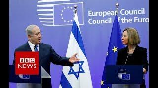 Jerusalem: Netanyahu expects EU to follow US recognition - BBC News