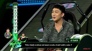 Bê Trần trúng tủ với loạt câu hỏi Tây Du Ký | NHANH NHƯ CHỚP NNC #9 MÙA 2 | 25/5/2019