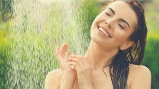 PEACEFUL SHOWER SOUNDS | 4 Hours of Relaxing Flowing Water Background Noise