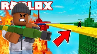 DESTROYING ALL TOWERS!! | Roblox Doomspire Brickbattle