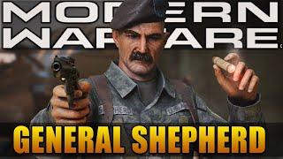 General Shepherd in Modern Warfare 2019 (Modern Warfare Story)
