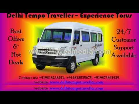 tempo traveller hire in delhi | 9, 12, 14, 15, 16, 17, 18, 20, 26 seater vehicles on Rent