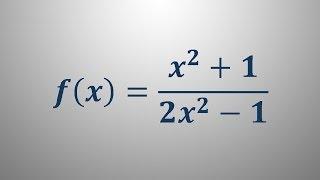 Definicijsko območje racionalne funkcije 3