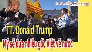 Donate Sharing | TT. Trump: M.ỹ sẽ đ.ư.a nhiều gốc Việt v.ề n.ư.ớ.c