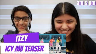 ITZY 'ICY' MV TEASER REACTION!!!