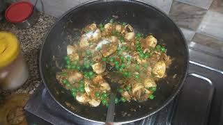 Matar Mushroom cook your home desi style dish