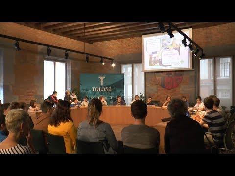 Eskola Agenda 21 programan landutako proposamenak aurkeztu dituzte ikasleek Tolosako Udalean