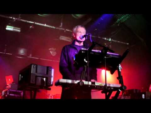 John Foxx - No one Driving - Glasgow Arches 2011 HD