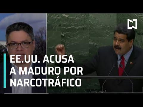 EEUU acusa a Nicolás Maduro por narcotráfico - Expreso de la Mañana