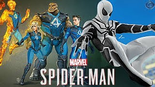 Spider-Man PS4 - Fantastic Four DLC Teased?!