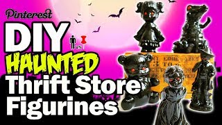 💀 DIY Haunted Thrift Store Figurines - Man Vs Pin