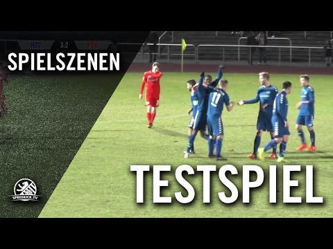 FC Hertha 03 Zehlendorf - 1. FC Union Berlin (Testspiel) - Spielszenen | SPREEKICK.TV
