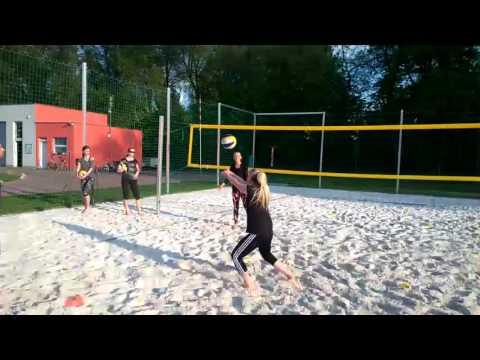 Beach Centrum - trénink pro začátečníky (9. 5. 2016)