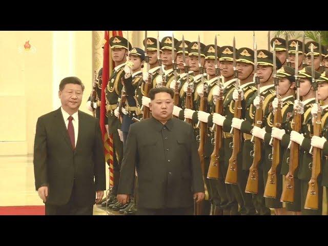 金正恩三訪北京