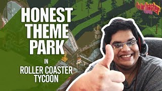 Honest Theme Park | Roller Coaster Tycoon | Funny Moments