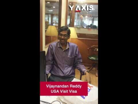Vijaynandan Reddy USA Visit visa PC Jyothi