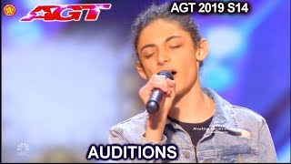 """Benicio Bryant Singer sings """"The Joke"""" AWESOME 