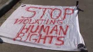 "Flash Mob la Ambasada rusă: ""STOP violating Human Rights!"""