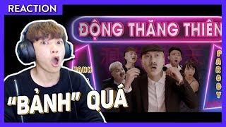 ANH VANH LEG BỊ BẮT   Channy reaction Động Thăng Thiên    Quỳnh Búp Bê Parody    LEG