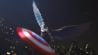 The Falcon/Captain America Fight Scenes - The Falcon and The Winter Soldier