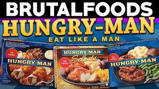 Hungry-Man - TV Dinner Reviews - brutalfoods