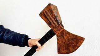 Restoration the hammer of thunder god _ Restore big hammer of Thor
