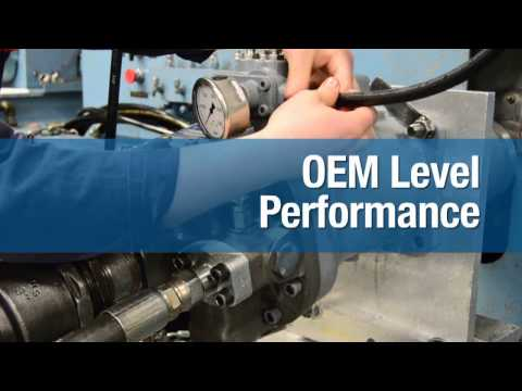 Aftermarket, Reman Hydraulic Pumps, Motors, Valves, Cylinders and Repair Services