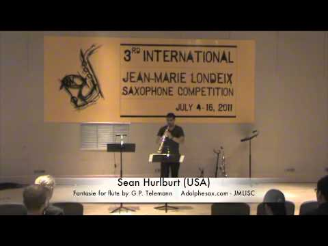 3rd JMLISC: Sean Hurlburt (USA) Fantasie for flute by G.P. Telamann